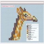 Grille Girafe – Manchette Afrique