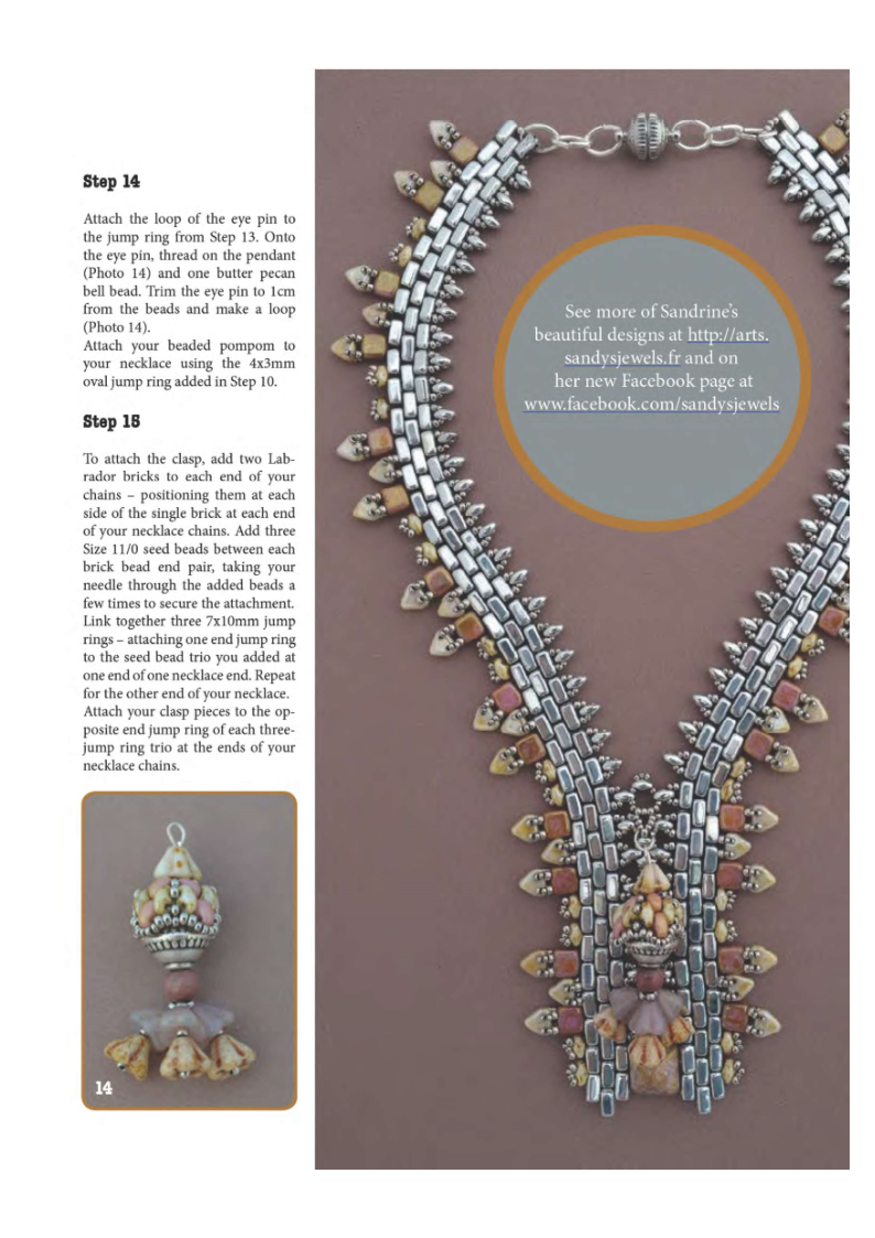 DBM - Elegantly zippered necklace 2
