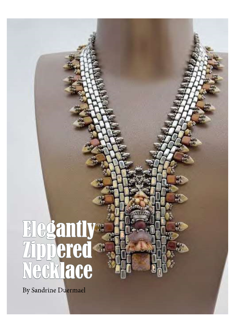 DBM - Elegantly zippered necklace
